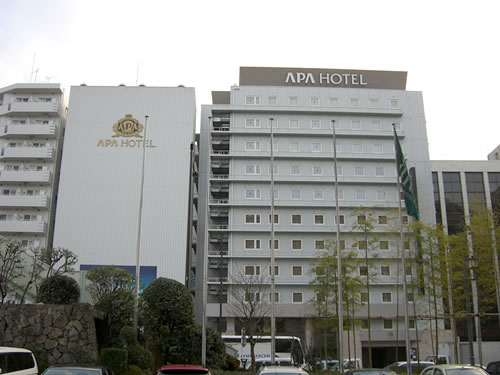 アパホテル堀川通り 全景